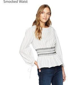 Medium smocked waist top